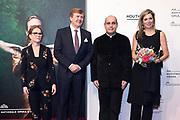 Premiere van Gurre-Lieder in de Nationale Opera & Ballet / Premiere of Gurre-Lieder in the National Opera & Ballet.<br /> <br /> Op de foto / On the photo:  Koning Willem-Alexander en koningin Maxima / King Willem Alexander and Queen Maxima