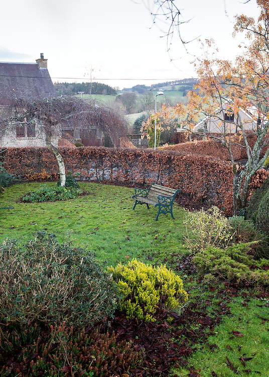 'The Hills'. A 4 bedroom, detached property on the edge of the rural Borders town, Selkirk. The property is being marketed by CKD Galbraith.