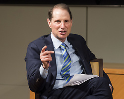July 27, 2017 - Washington, DC, U.S - Senator RON WYDEN (D-OR) speaking on ''The Future of Surveillance: Reform, Repeal, or Renewal for Section 702?'' at the CATO Institute in Washington, DC on July 27, 2017. (Credit Image: © Michael Brochstein via ZUMA Wire)