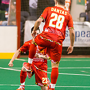 The Baltimore Blast defeat the Detroit Waza Flo, 9-3, improving to 10-0 on the season.