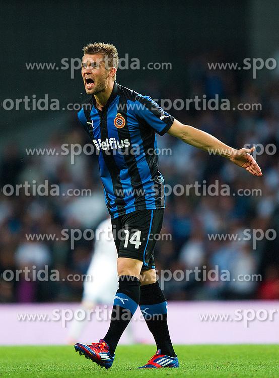 Football: Champions League Qualification, FC Brugge.Jim Larsen.© pixathlon