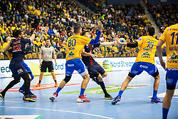 Kristian Beciri during handball match between RK Celje Pivovarna Lasko (SLO) and Paris Saint-Germain HB (FRA) in VELUX EHF Champions League 2018/19, on February 24, 2019 in Arena Zlatorog, Celje, Slovenia. Photo by Peter Podobnik / Sportida