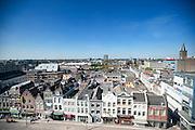 Uitzicht op de westkant van de stad Utrecht.<br /> <br /> View on the west side of Utrecht.
