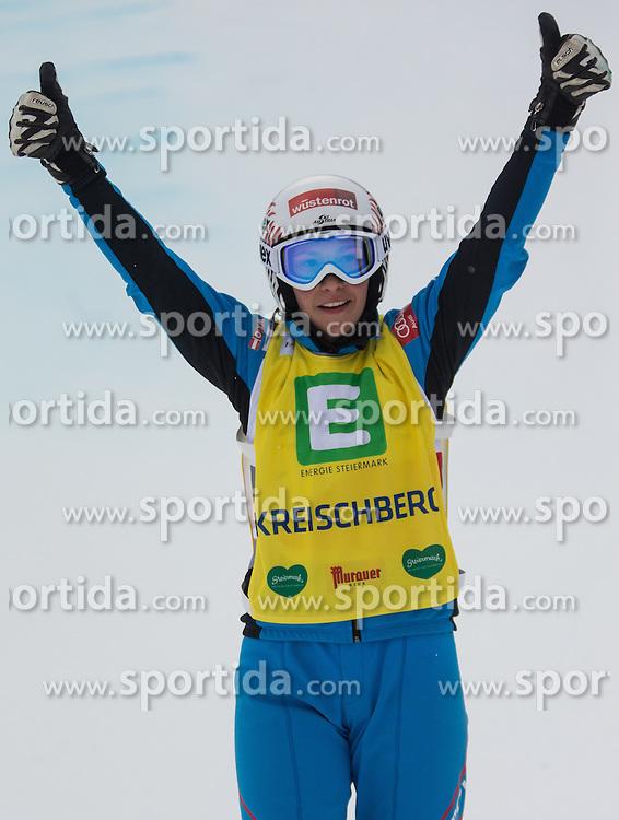 25.01.2014, Kreischberg, St. Georgen, AUT, FIS Weltcup Ski Cross, im Bild Katrin Ofner (AUT, 4. Platz) // 4th place Katrin Ofner of Austria during the FIS Ski Cross World Cup at the Kreischberg in St. Georgen, Austria on 2014/01/25. EXPA Pictures © 2014, PhotoCredit: EXPA/ Johann Groder