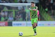 Forest Green Rovers Matty Stevens(9) on the ball during the EFL Sky Bet League 2 match between Forest Green Rovers and Colchester United at the New Lawn, Forest Green, United Kingdom on 14 September 2019.