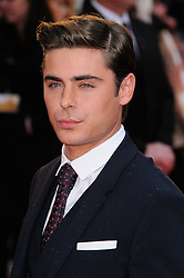 Zac Efron at The Lucky One premiere in  London, 23rd April 2012.  Photo by: Chris Joseph / i-Images