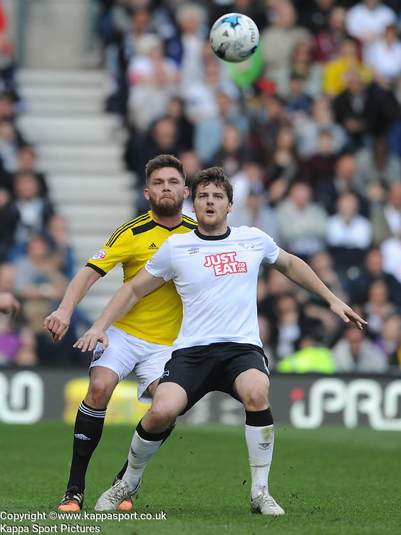 Chris Martin Derby County,  Derby County, Derby County v Brentford, Sky Bet Championship, IPro Stadium, Saturday 11th April 2015. Score 1-1,  (Bent 92) (Pritchard 28)<br /> Att 30,050