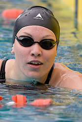 Vita Sonjak of Olimpija (SLO) competes during the 35th International Swimming meeting Ljubljana 2010, on May 23, 2010 at Kodeljevo pool, Ljubljana, Slovenia. (Photo by Vid Ponikvar / Sportida)