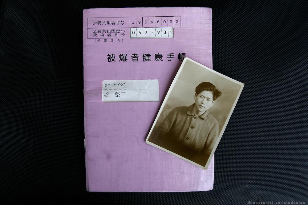 SEIJI TANI.  Hiroshima A-Bomb survivor. Student of IDEC, Hiroshima University.