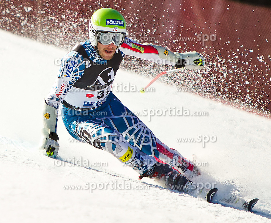 06.02.2011, Hannes-Trinkl-Strecke, Hinterstoder, AUT, FIS World Cup Ski Alpin, Men, Hinterstoder, Riesentorlauf, im Bild Bode Miller (USA) // Bode Miller (USA) during FIS World Cup Ski Alpin, Men, Giant Slalom in Hinterstoder, Austria, February 06, 2011, EXPA Pictures © 2011, PhotoCredit: EXPA/ J. Feichter
