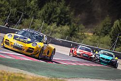 11.08.2013, Red Bull Ring, Spielberg, AUT, ADAC GT Masters, 2. Rennen, im Bild Team Geyer & Wenig EDV Unternehmensberatung // Schütz Motorsport, (#4, Christian Engelhart, GER und Nicolas Armindo, ITA), MS Racing, (#1, Florian Stoll, GER und Sebastian Asch, GER), Vita4one Racing Team, (#47, Paul Green, GER und Niclas Kentenich, GER) // during the ADAC GT Masters 2st race day at the Red Bull Ring in Spielberg on August 11th 2013, EXPA Pictures © 2013, PhotoCredit: EXPA/ Mario Kuhnke