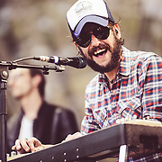 Ben Bridwell/Band Of Horses performing live at the Rock A Field Festival in Luxembourg, Europe on June 30, 2013