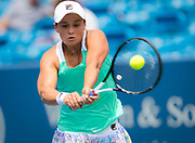 Ashleigh Barty of Australia in action during her third-round match at the 2018 Western and Southern Open WTA Premier 5 tennis tournament, Cincinnati, Ohio, USA, on August 17th 2018, Photo Rob Prange / SpainProSportsImages / DPPI / ProSportsImages / DPPI