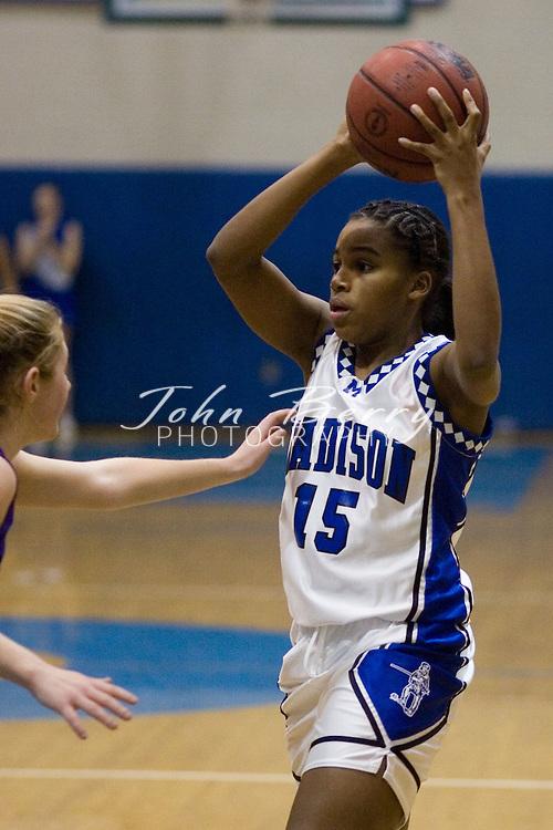 MCHS Varsity Girls Basketball.vs Strasburg.January 26, 2006