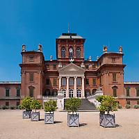 The Savoy Castle of Racconigi in Piedmont near Turin