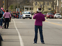Laconia Little League opening day parade.  Karen Bobotas for the Laconia Daily Sun