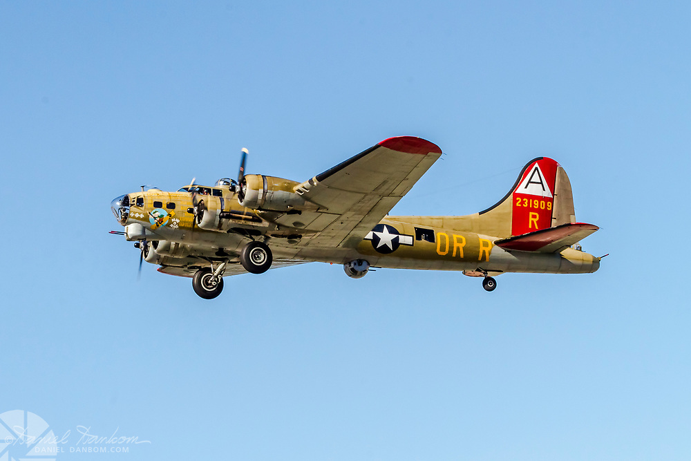 North American B-25J taking of from MRY, Monterey, California