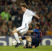 Fotball. UEFA Champions League. Første semifinale. 23.04.2002.<br />