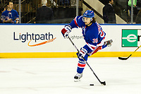 March 16, 2014: New York Rangers Right Wing Mats Zuccarello (36) 7214 during a regular season NHL Eishockey Herren USA game between the San Jose Sharks and the New York Rangers at Madison Square Garden in New York, NY. The Sharks defeated the NY Rangers 1-0. NHL Eishockey Herren USA MAR 16 Sharks at Rangers <br /> Norway only