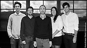 Paul Laurendeau Architecte : portrait de l'équipe pour la salle de spectacle de Trois-Rivières. à  Bureaux / Montreal / Canada / 2012-11-05, Photo © Marc Gibert / adecom.ca