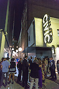 Civic Theatre exterior; Opening night of the 25th anniversary New Orleans Film Festival