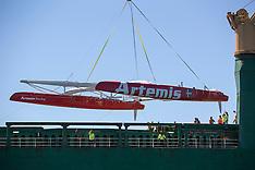 AC72 Arrives in San Francisco