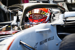 March 23, 2018 - Melbourne, Victoria, Australia - MAGNUSSEN Kevin (dnk), Haas F1 Team VF-18 Ferrari, portrait during 2018 Formula 1 championship at Melbourne, Australian Grand Prix, from March 22 To 25 - Photo  Motorsports: FIA Formula One World Championship 2018, Melbourne, Victoria : Motorsports: Formula 1 2018 Rolex  Australian Grand Prix, (Credit Image: © Hoch Zwei via ZUMA Wire)