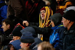 Bradford City fans look on - Photo mandatory by-line: Rogan Thomson/JMP - 07966 386802 - 14/01/2015 - SPORT - FOOTBALL - Bradford, England - Coral Windows Stadium - Bradford City v Millwall - FA Cup Third Round Replay.