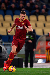 03.02.2019, Stadio Olimpico, Rom, ITA, Serie A, AS Roma vs AC Milan, 22. Runde, im Bild dzeko // dzeko during the Seria A 22th round match between AS Roma and AC Milan at the Stadio Olimpico in Rom, Italy on 2019/02/03. EXPA Pictures © 2019, PhotoCredit: EXPA/ laPresse/ Alfredo Falcone<br /> <br /> *****ATTENTION - for AUT, SUI, CRO, SLO only*****