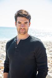 sexy man on the beach