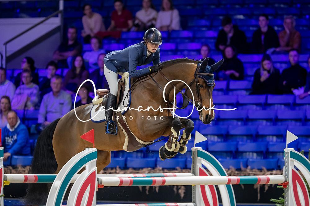 De Pelsmaeker Julie, BEL, Kalinka v Vosberg<br /> Jumping Mechelen 2019<br /> © Hippo Foto - Martin Tandt<br />  27/12/2019