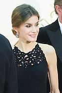 Queen Letizia of Spain attends a Dinner in honor of the winners of the prize 'Mariano de Cavia', 'Luca de Tena' and 'Mingote' at ABC newspaper headquarters on December 10, 2015 in Madrid