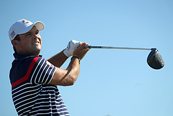 Team USA's Patrick Reed during preview day four of the Ryder Cup at Le Golf National, Saint-Quentin-en-Yvelines, Paris. PRESS ASSOCIATION Photo. Picture date: Thursday September 27, 2018. See PA story GOLF Ryder. Photo credit should read: Adam Davy/PA Wire. RESTRICTIONS: Use subject to restrictions. Written editorial use only. No commercial use.