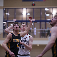 Men's Basketball: Macalester College Scots vs. Gustavus Adolphus College Gusties