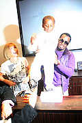 """l to r: Anna Wintour and Sean"""" P.Diddy"""" Combs at The Sean John Boutique on Fifth Ave on September 10, 2009  in New York City"""