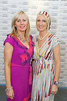 TV3's Sinead Desmond launched the brand new Audi A6 in the exclusive Michael Moore Car Sales Athlone along with a evening of amazing Fashion from top boutiques in the Midlands produced by Mandy Maher of Catwalk Model Agency all in aid of Console & NBCRI.   At the event was Pamela Guinan and Edel Lyons Kabelo, Birr. Photo:Andrew Downes.
