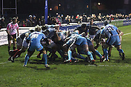 The London Scottish pack send the rolling maul rumbling towards the try-line during the Green King IPA Championship match between London Scottish &amp; Worcester at Richmond, Greater London on 20th December 2014<br /> <br /> Photo: Ken Sparks | UK Sports Pics Ltd<br /> London Scottish v Worcester, Green King IPA Championship, 20th December 2014<br /> <br /> &copy; UK Sports Pics Ltd. FA Accredited. Football League Licence No:  FL14/15/P5700.Football Conference Licence No: PCONF 051/14 Tel +44(0)7968 045353. email ken@uksportspics.co.uk, 7 Leslie Park Road, East Croydon, Surrey CR0 6TN. Credit UK Sports Pics Ltd