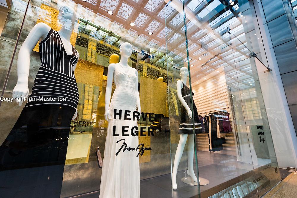 Herve Leger fashion  shop in Dubai Mall Dubai United Arab Emirates