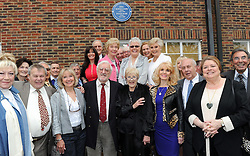 © Licensed to London News Pictures. 19/05/2013.Morecambe and Wise Plaque unveiling..Teddington Studios London  Plaque unveiling to Eric Morecambe and Ernie Wise (19.05.2013)..Guests &  celebrities. .Photo credit :Grant Falvey/LNP