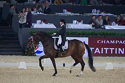 Smits-Vanhasselt Vicky (BEL) - Daianira vd Helle<br /> Grand Prix - CDI-W Mechelen 2011<br /> © Dirk Caremans