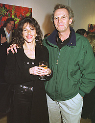 MR & MRS MARK SHAND, he is the brother of Camilla Parker Bowles, at an exhibition in London on 16th February 1999.MOJ 32