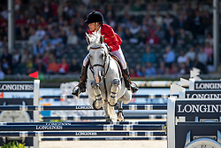 DINIZ Luciana (POR), VERTIGO DU DESERT<br /> Rotterdam - Europameisterschaft Dressur, Springen und Para-Dressur 2019<br /> Longines FEI Jumping European Championship - Second Qualifying Competition<br /> Team Final Round 1<br /> 2. Qualifikation - Team Finale 1. Runde<br /> 22. August 2019<br /> © www.sportfotos-lafrentz.de/Dirk Caremans
