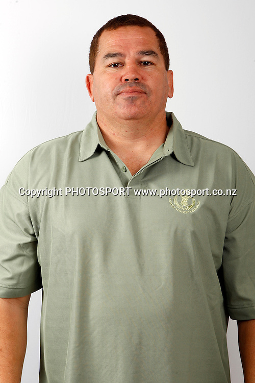 Co-Coach Mark Horo, New Zealand Maori rugby league headshots, Jetpark Hotel, Auckland. 14 October 2010. Photo: William booth/photosport.co.nz