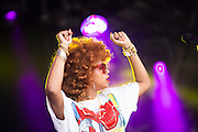 American singer and cook Kelis at Love Supreme Festival