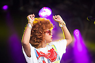 American singer and cook Kelis at Love Supreme Festival