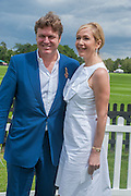ROD BARKER; TANYA BRYER, Cartier Queen's Cup. Guards Polo Club, Windsor Great Park. 17 June 2012