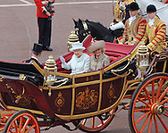 "QUEEN AND CAMILLA, DUCHESS OF CORNWALL.take a carriage ride from Westminster Hall to Buckingham Palace after lunch, in celebration of the Queen's Diamond Jubilee_5th June 2012.Mandatory Credit Photo: ©L Cash/NEWSPIX INTERNATIONAL..**ALL FEES PAYABLE TO: ""NEWSPIX INTERNATIONAL""**..IMMEDIATE CONFIRMATION OF USAGE REQUIRED:.Newspix International, 31 Chinnery Hill, Bishop's Stortford, ENGLAND CM23 3PS.Tel:+441279 324672  ; Fax: +441279656877.Mobile:  07775681153.e-mail: info@newspixinternational.co.uk"