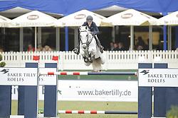 Michaels-Beerbaum, Meredith, Fibonacci<br /> Hamburg - Hamburger Derby 2015<br /> Baker Tilly Roelfs Trophy<br /> © www.sportfotos-lafrentz.de/Stefan Lafrentz