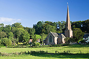 Church of St Tysilio in Sellack, Herefordshire, England, United Kingdom
