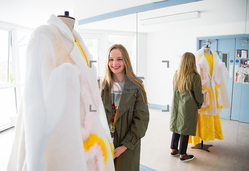 31.05.2017      <br /> Limerick School of Art and Design, LSAD Graduate Show Feature.<br /> Pictured is Kate O'Doherty. Picture: Alan Place.